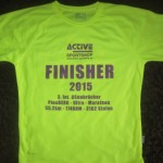Das Finisher Shirt 2015